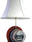 meter lamp cherry